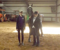 A Major Uprising with Meme and Lucy Anderson, winning the Youth Pony Class .jpg